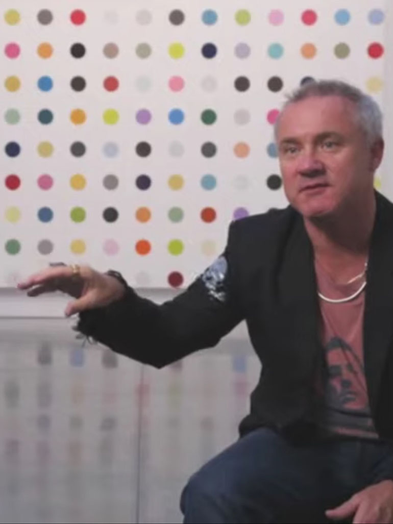 Damien Hirst's Spot Paintings - Trivial or inspiring? You decide
