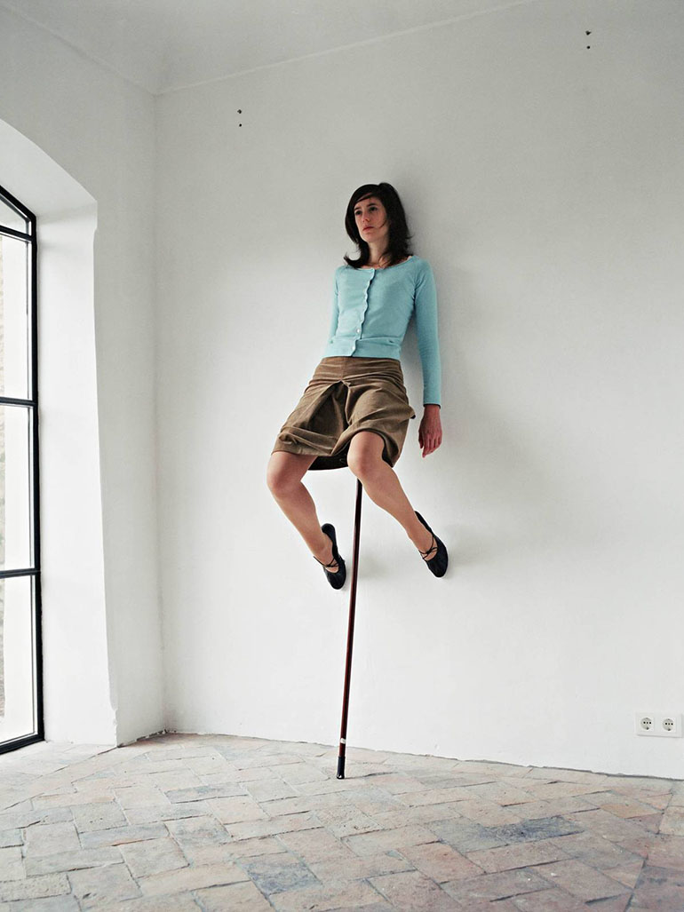 Erwin Wurm's One Minute Sculptures are refreshing