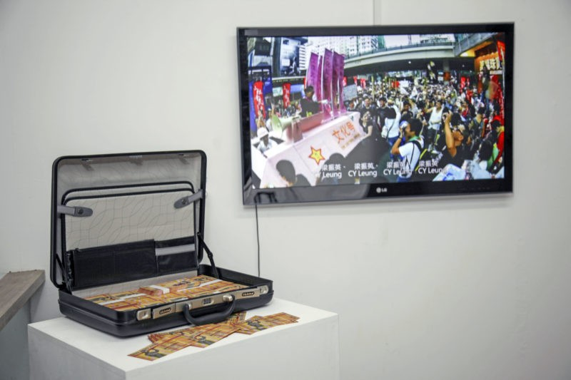 Kacey Wong – The Real Culture Bureau, 2012, installation view, Total Museum of Contemporary Art, Seoul, South Korea, 2014