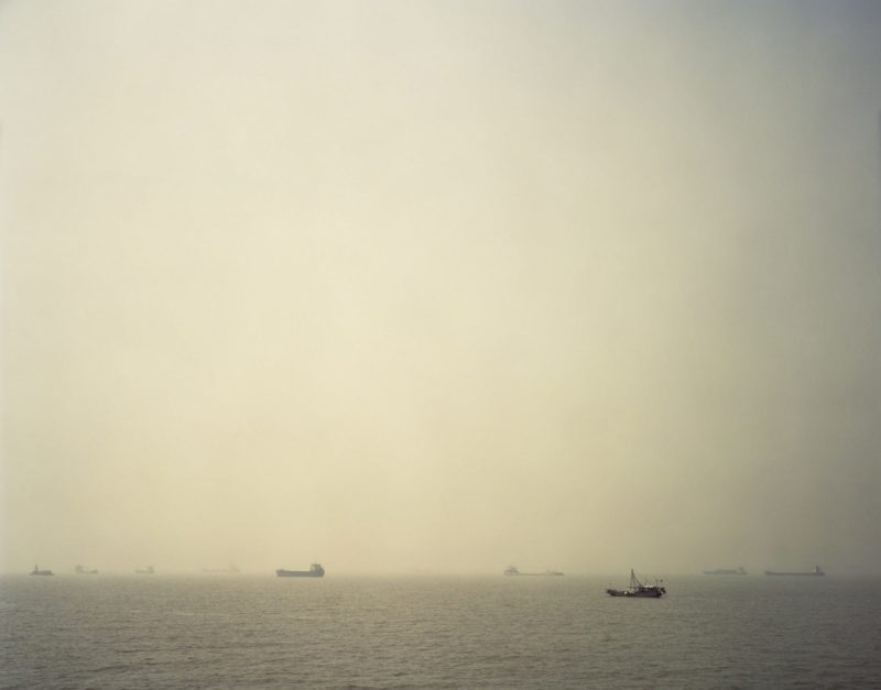 Nadav Kander – Mouth I (Wusongkou - Where River Meets Sea), near Shanghai, 2006
