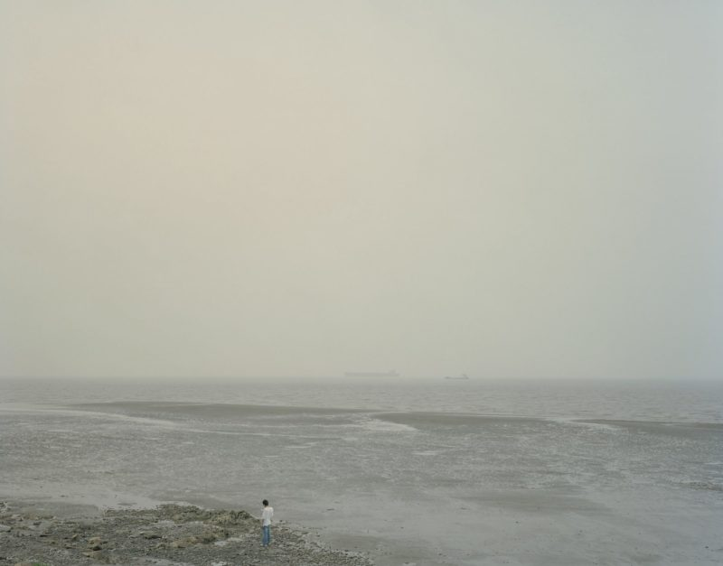 Nadav Kander – Mouth V, near Shanghai, 2007