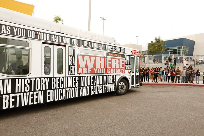Barbara Kruger - Arts Matter bus (2)