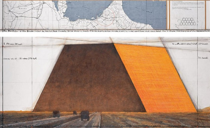 Christo - The Mastaba (Abu Dhabi) - 2