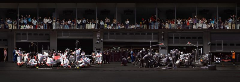 Andreas Gursky - F1 Boxenstopp II, 2007