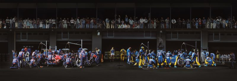 Andreas Gursky - F1 Boxenstopp III, 2007