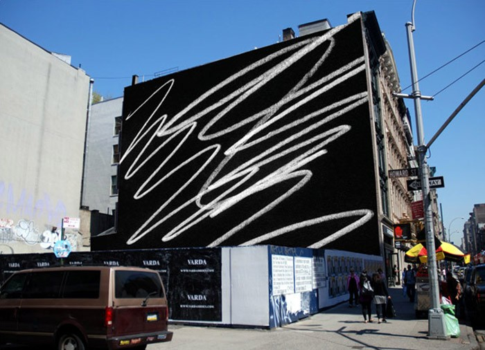 Karl Haendel - Scribble @441 Broadway (digital rendering)