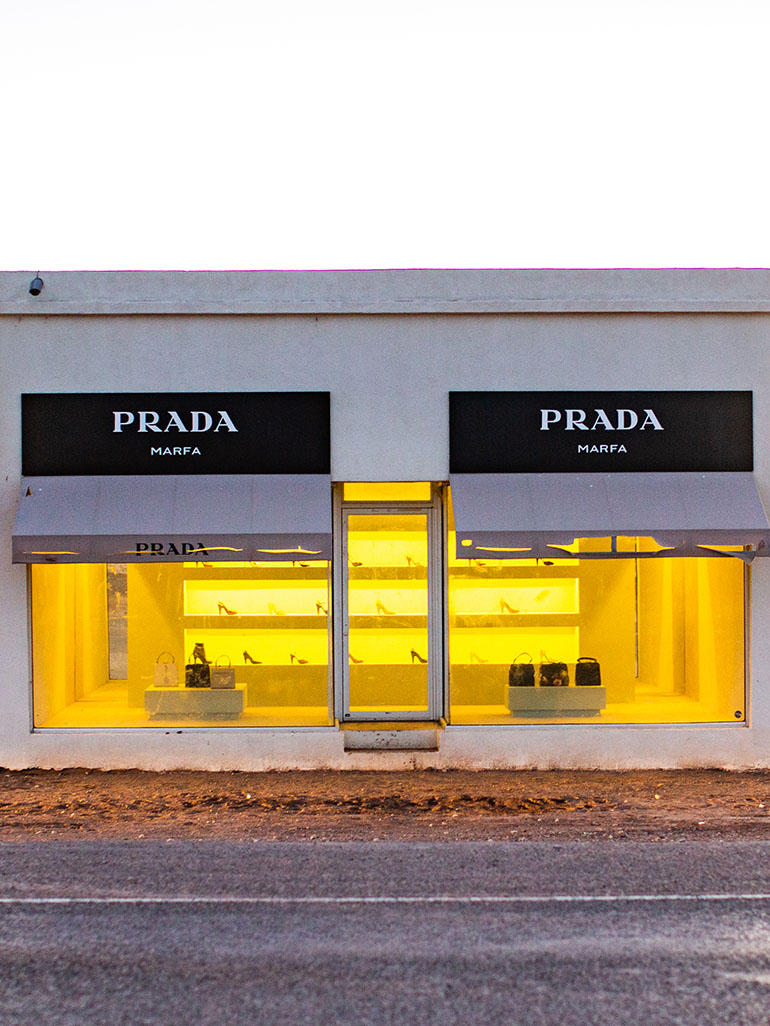 Elmgreen & Dragset created Marfa's own Prada store