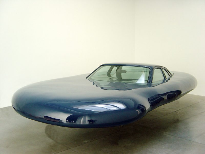 Erwin Wurm - UFO, 2006, mixed media, 80 x 275 x 550 cm
