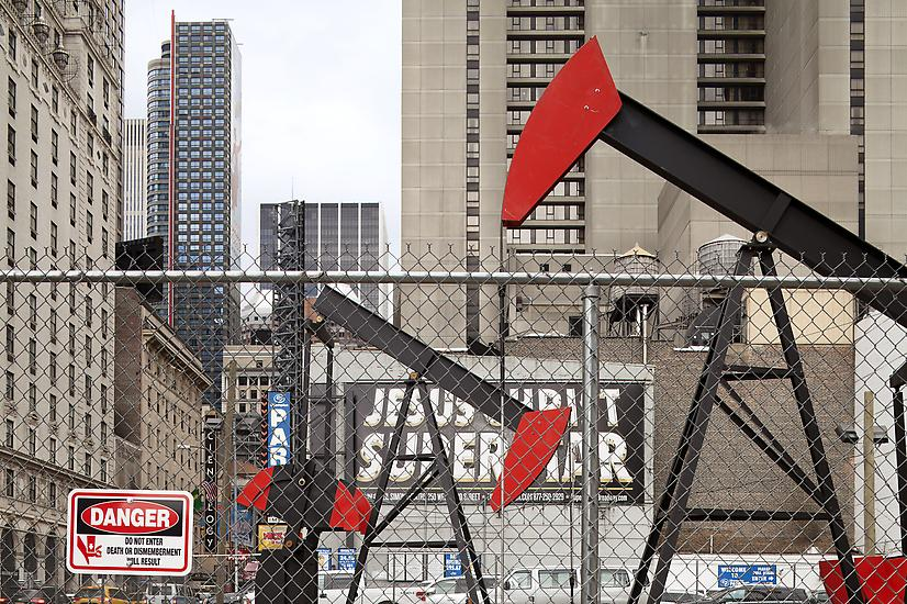 Josephine Meckseper - Manhattan Oil Project, 2012