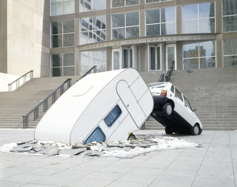 Elmgreen & Dragset – Short Cut, 2003, Mixed-media installation, Museum of Contemporary Art Chicago, 2005