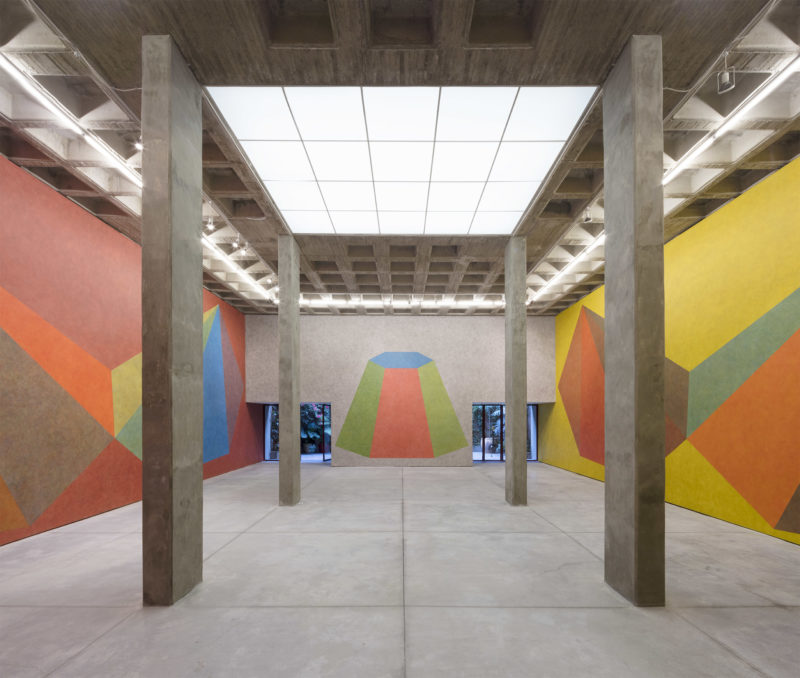 Sol LeWitt – Instructions for a Pyramid, Galería OMR, Mexico City, 2017