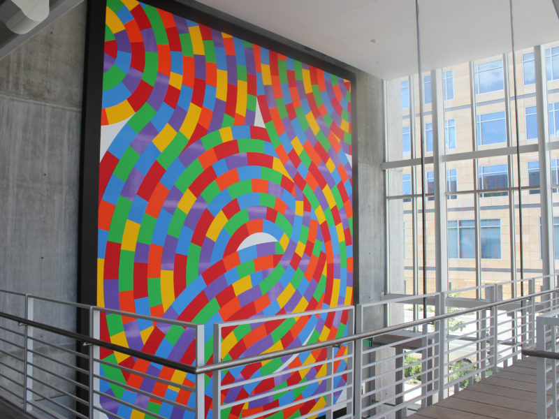 Sol LeWitt - Wall Drawing 1238, Whirls and Twirls, 2007