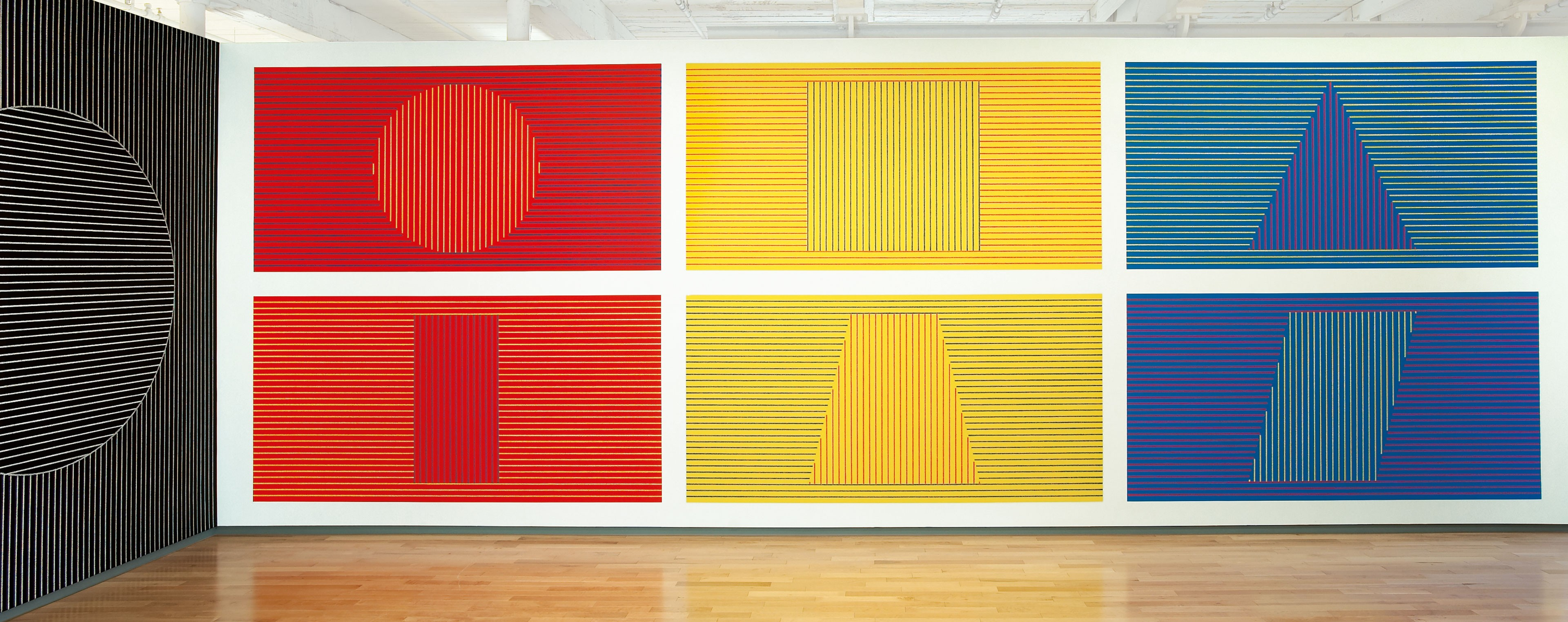 Sol LeWitt\'s influential drawings on walls around the world