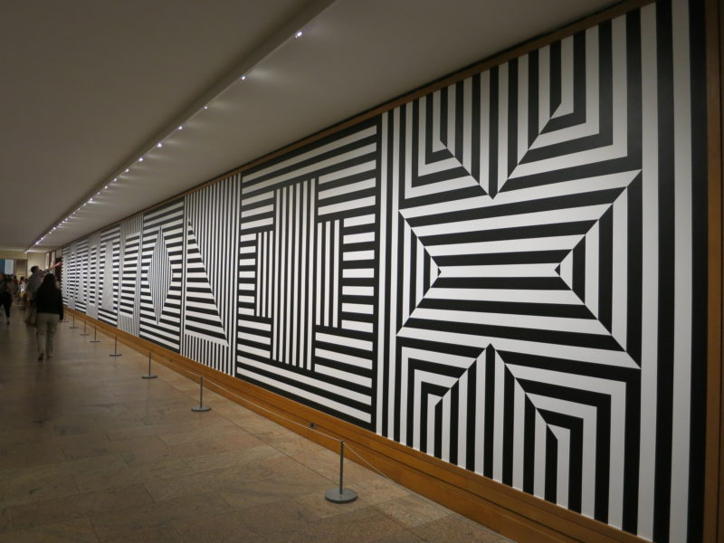 Sol LeWitt, Wall Drawing #370, installation view in Gallery 399 at The Metropolitan Museum of Art, August, 2014