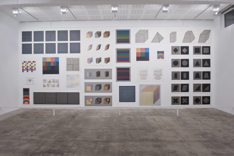 Sol Lewitt - Exhibition Pyramides, Marian Goodman, Paris, Nov 17, 2012 – Jan 19, 2013