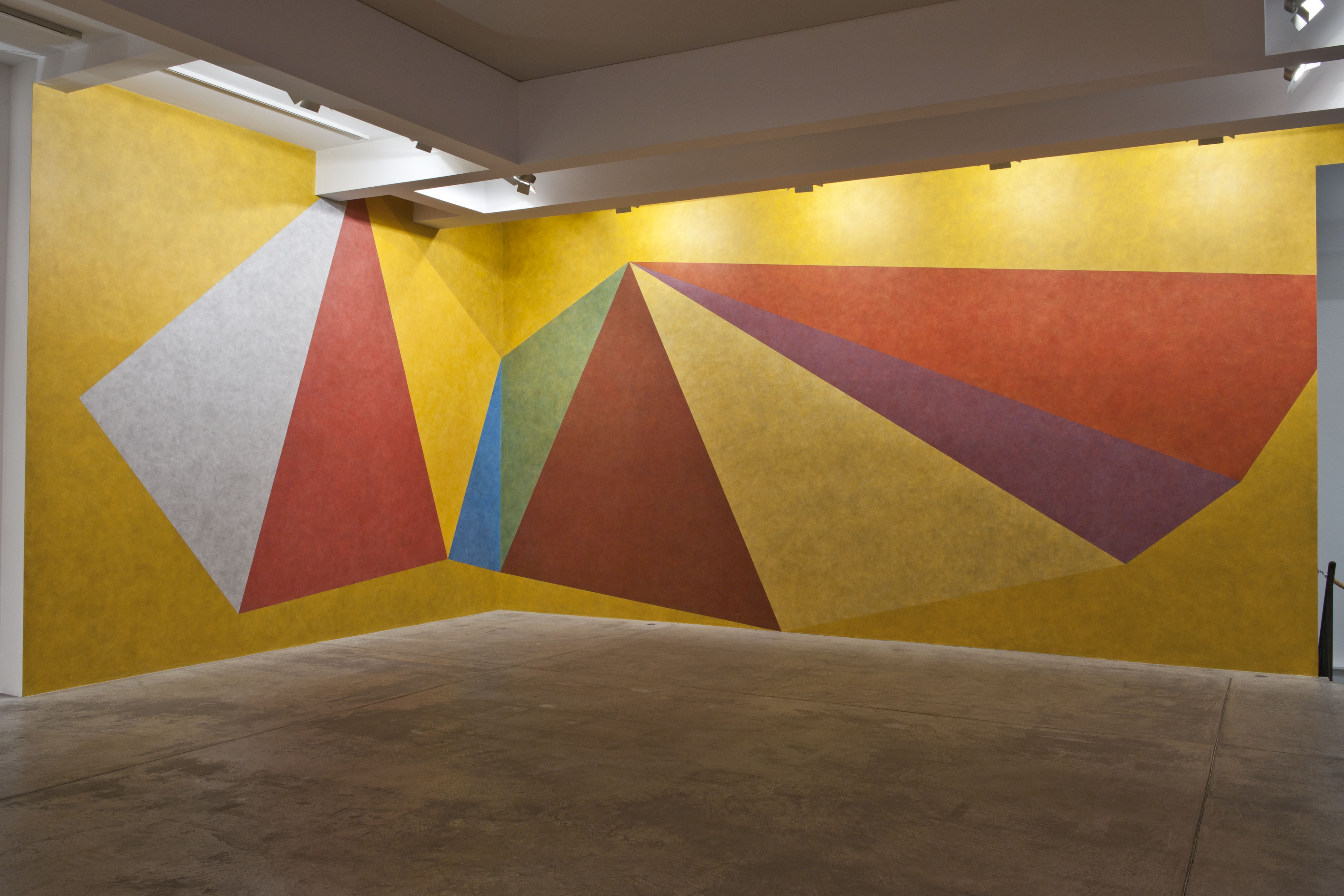 Sol LeWitt's influential drawings on walls around the ...