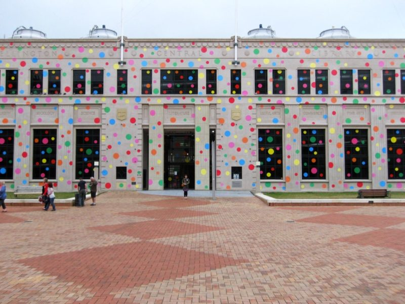 Yayoi Kusama - Dots for Love and Peace, 2009, City Gallery Wellington, New Zealand