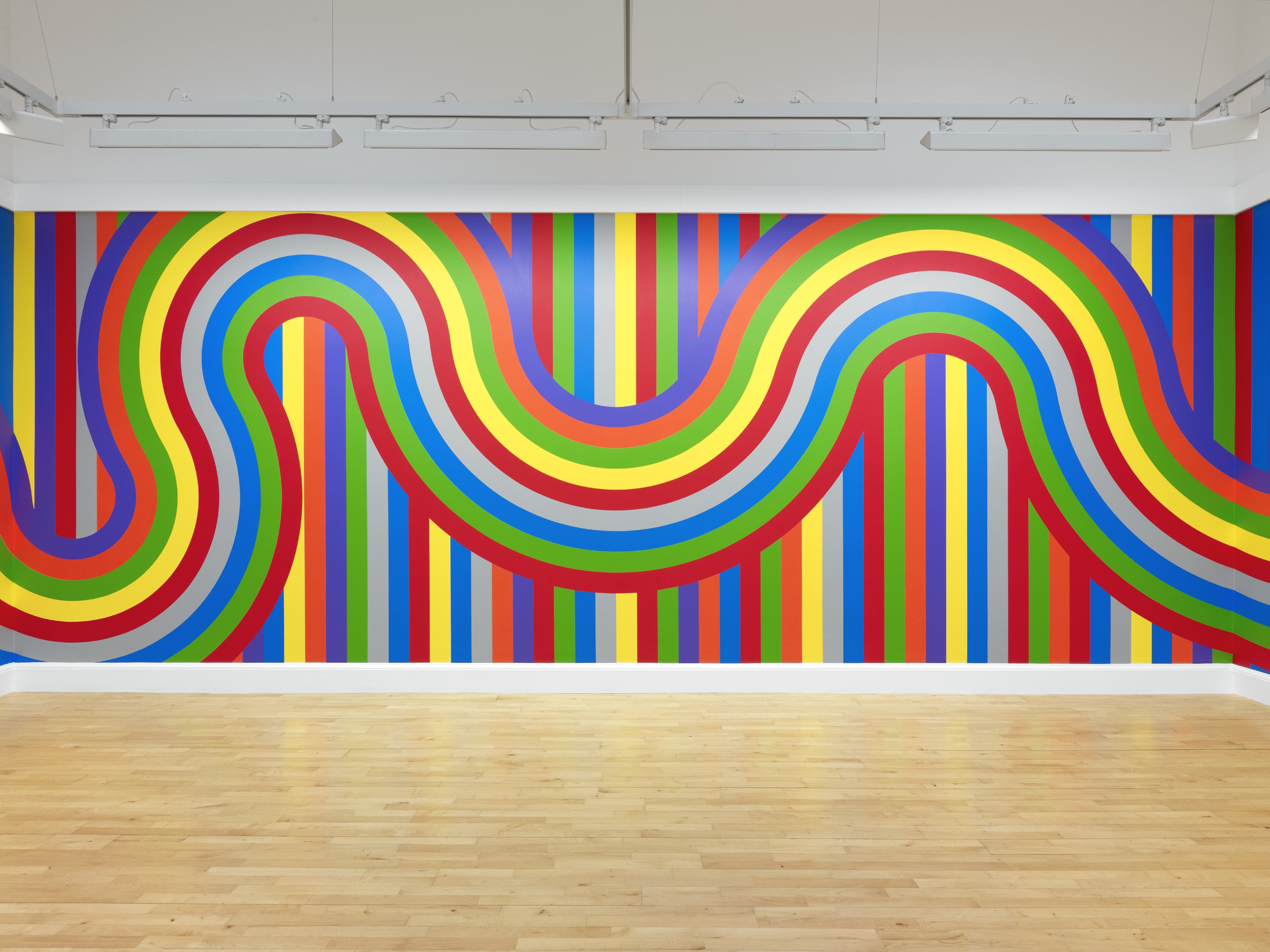 Sol lewitt 39 s influential drawings on walls around the world for Minimal art sol lewitt