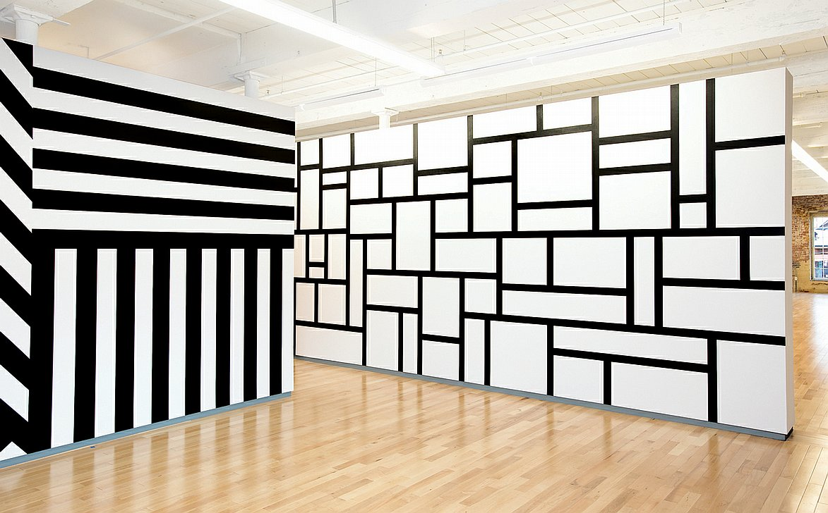 sol lewitt's influential drawings on walls around the world