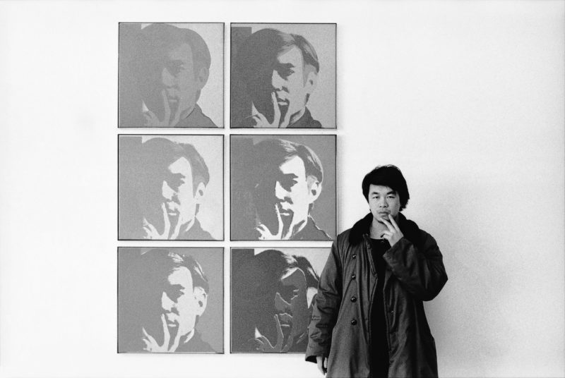 "Ai Weiwei – At the Museum of Modern Art, 1987, from the ""New York Photographs"" series, 1983–1993"