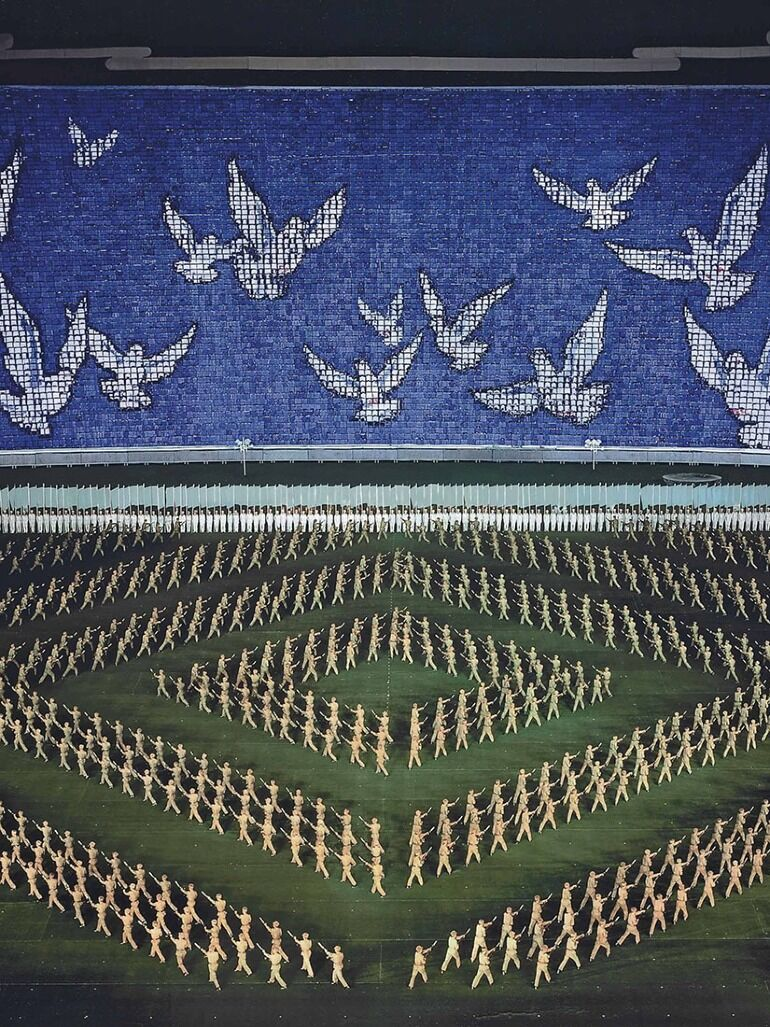 Andreas Gursky's sensational photos of North Korea's mass games