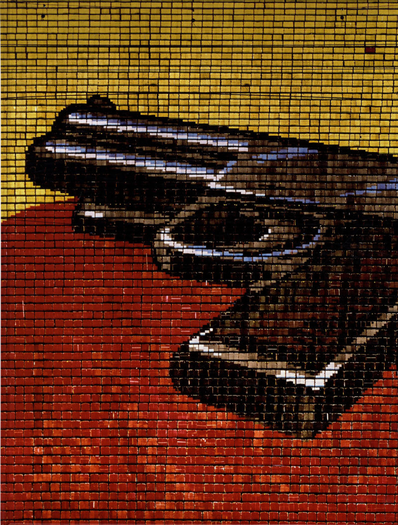 Hand Gun Cover Variant of book by Andreas Gursky, Published on the occasion of exhibitions at Monika Sprüth-Philomene Magers Gallery, London, and Matthew Marks Gallery, New York