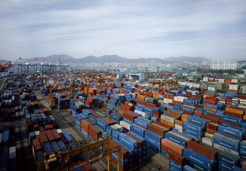Thomas Struth – Hanjin New Port, Gimhae, South Korea, 2010