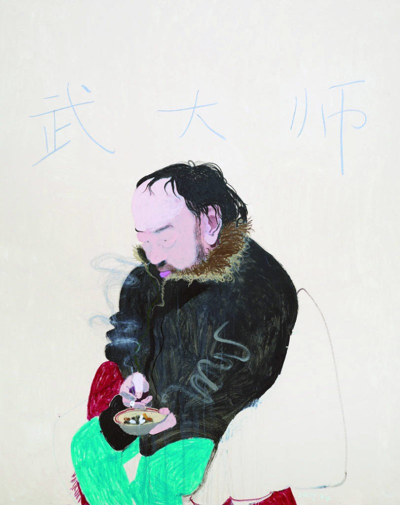 Wang Yuping - Master Wu, 2010, oil and acrylic on canvas, 200x160cm