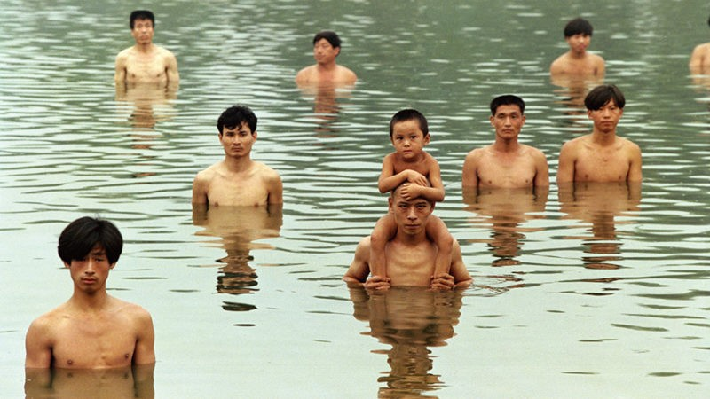 Zhang Huan - Raise the water level in a fishpond