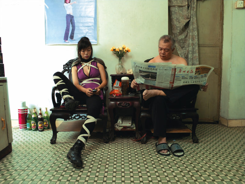 Cao Fei - Cosplayers - A Ming at Home, 2004, C-print, 75 x 100cm