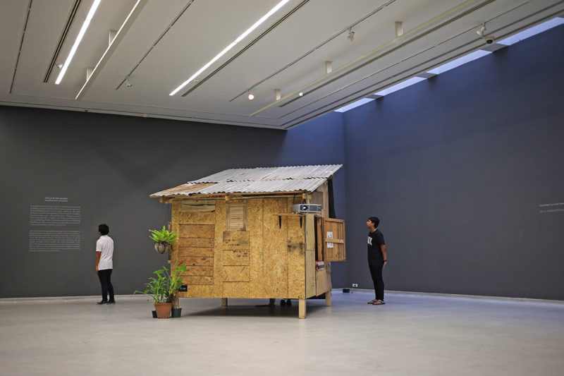Phil America - Slum Vacation at Bangkok University Gallery (installation view)