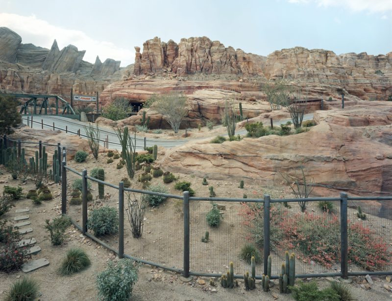 Thomas Struth - Canyon, Anaheim, California, 2013