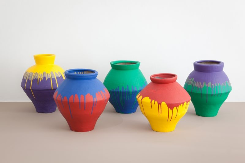 Ai Weiwei - Coloured Vases, 2006