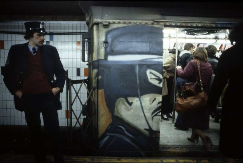 Christopher Morris - Subway, New York, 1981