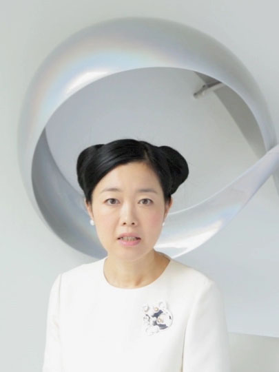 Mariko Mori speaks w/ Public Delivery: Art can unite humanity