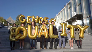 Silence Was Golden, Balloon - Seoul, South Korea, Ewha Womans University - Gender Equality