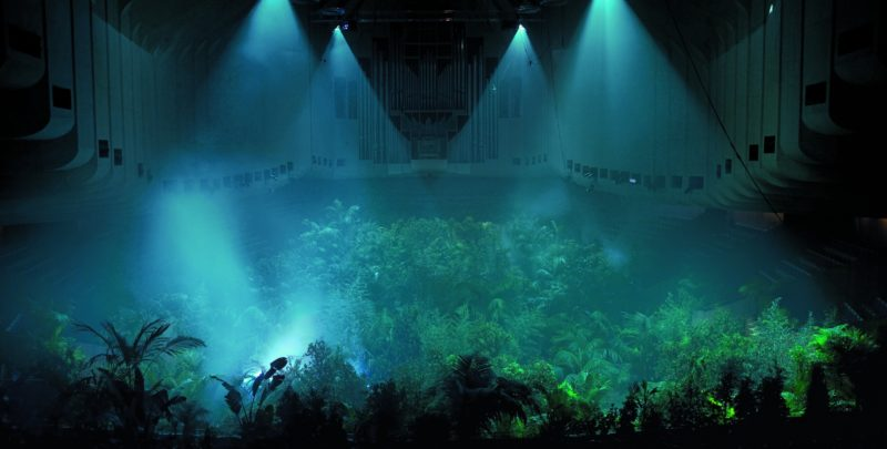 Pierre Huyghe – A Forest of Lines, 2008. Concert Hall at Sydney Opera House, 16th Biennale of Sydney