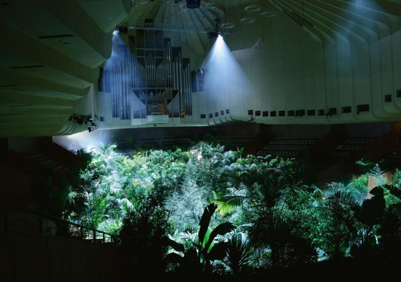 Pierre Huyghe, A Forest of Lines, 2008. Concert Hall at Sydney Opera House, 16th Biennale of Sydney - 4