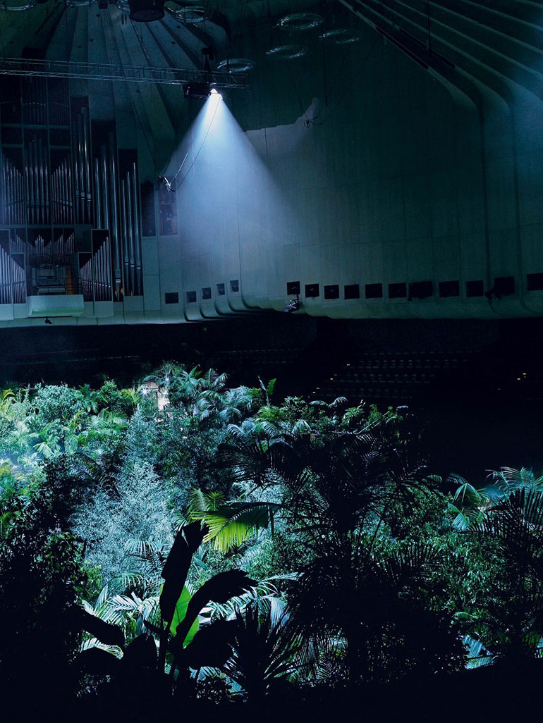 Pierre Huyghe fills Sydney's opera house with 1000 real trees