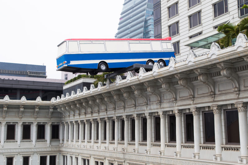 Richard Wilson - Hang On A Minute Lads... Ive Got A Great Idea - Peninsula Hotel, Hong Kong, 2015 - Day time