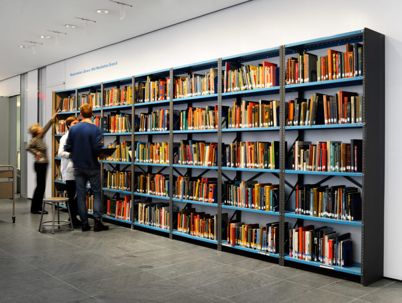 Andrew Beccone - Reanimation Library: Mid-Manhattan Branch. Museum of Modern Art, New York, 2012, Installation view, Photo Credit: Martin Seck
