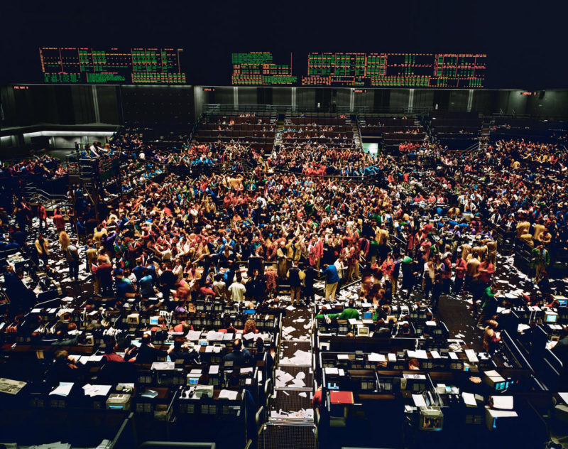 Andreas Gursky - Chicago Board of Trade I, 1997