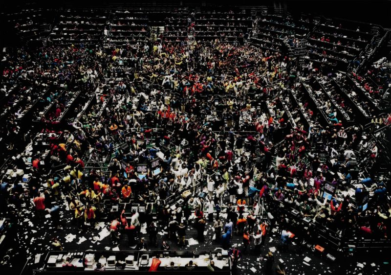 Andreas Gursky - Chicago board of trade III, 1999-2009, C-print, 223 x 307 cm.