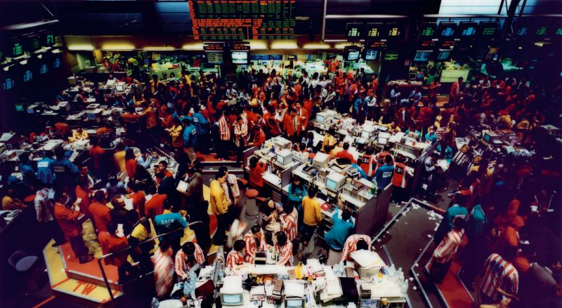 Andreas Gursky - Singapore Stock Exchange I, 1997