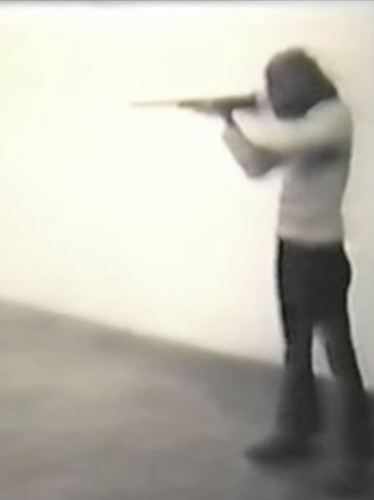 Chris Burden shot in the name of art in iconic performance (video)
