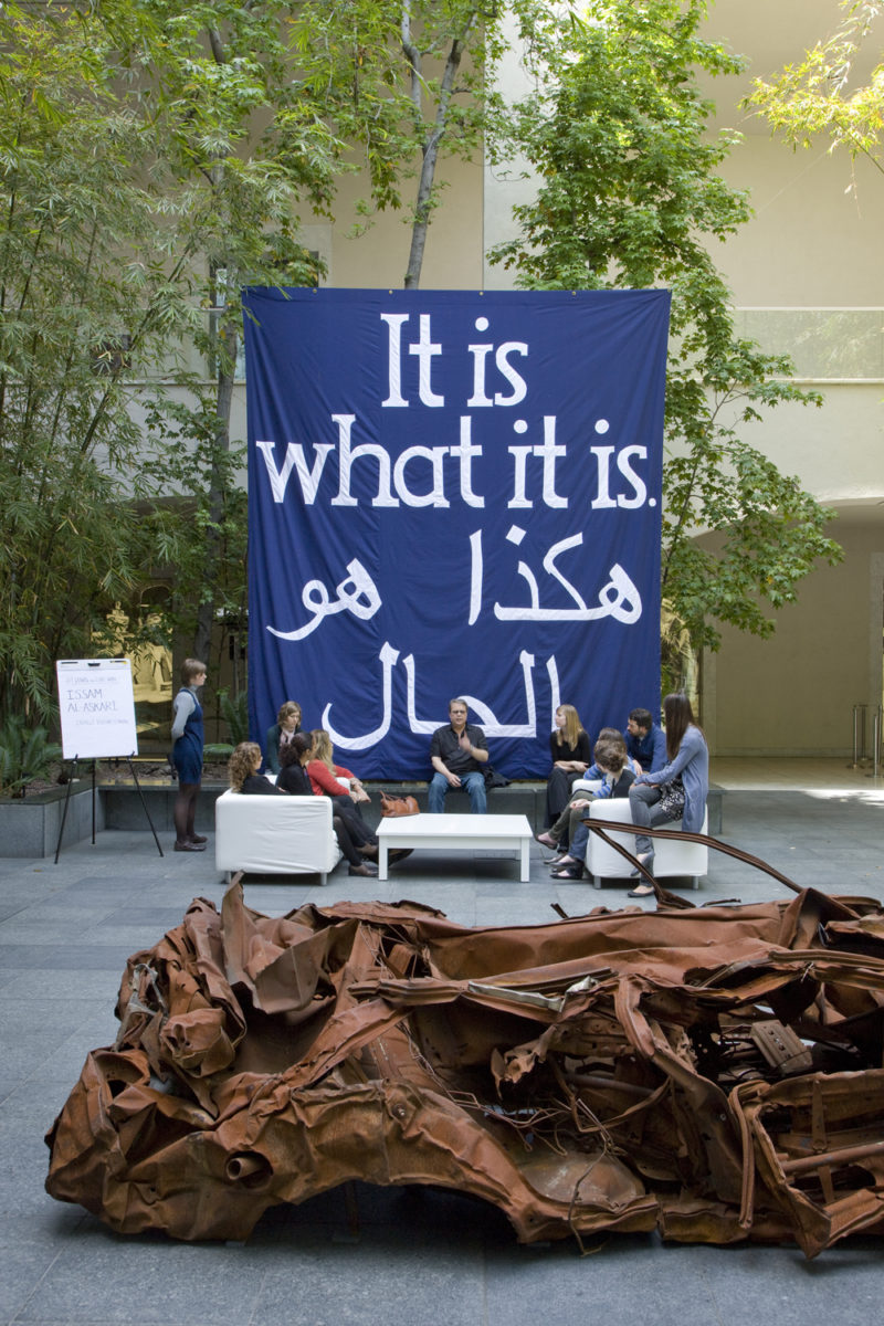 Jeremy Deller - It Is What It Is- Conversations About Iraq, at the Hammer Museum, UCLA, Los Angeles, 2009