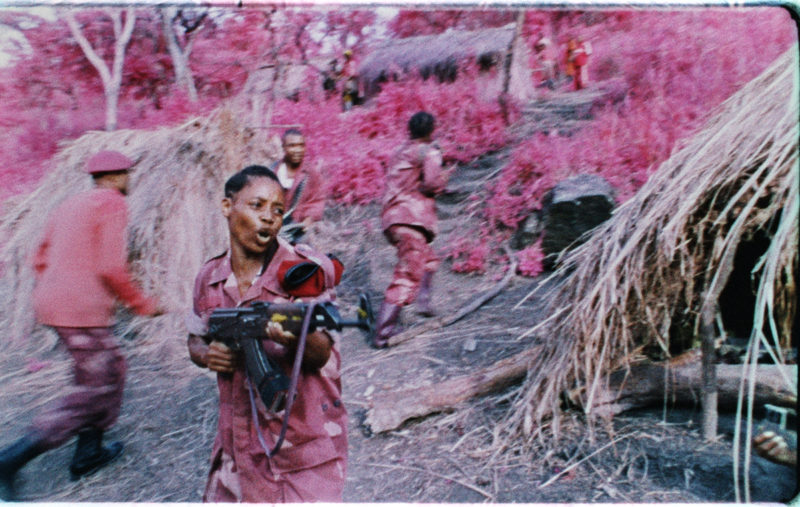 Richard Mosse - 2013 (16mm stills) Six screen film installation Courtesy the artist and Jack Shainman Gallery