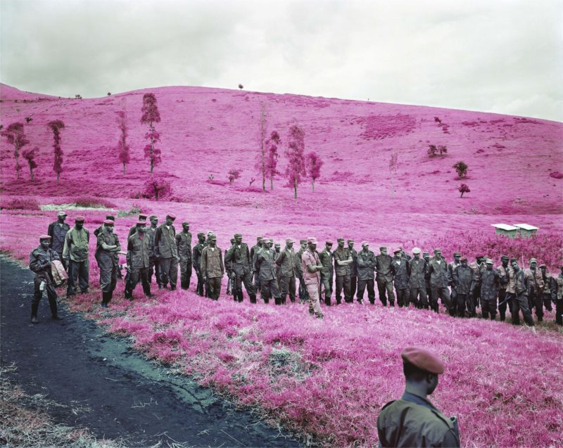 Richard Mosse - Colonel Soleils Boys, 2010, Courtesy of the artist and Jack Shainman Gallery, New York