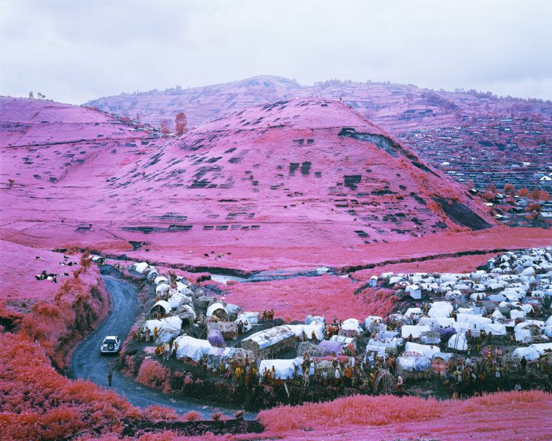Richard Mosse - Thousands are Sailing I, 2012 Digital c-print, ed. 2 of 5 40 x 50 in, Image courtesy of the artist and Jack Shainman Gallery, New York