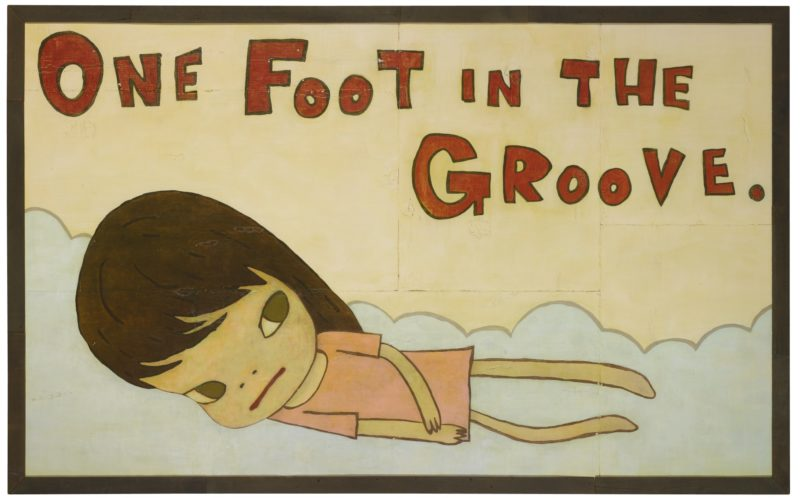 Yoshitomo Nara - One Foot in the Groove (For Donnie Fritts)